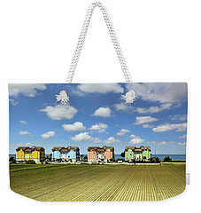 Weekender Tote Bag featuring the photograph House To House To Urbino by Jennie Breeze
