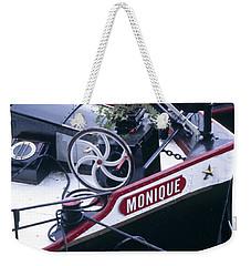 Houseboat In France Weekender Tote Bag