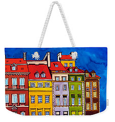 Houses In The Oldtown Of Warsaw Weekender Tote Bag