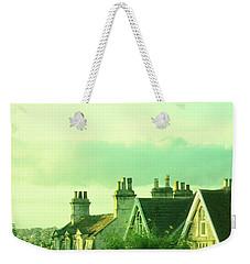 Houses Weekender Tote Bag by Jill Battaglia