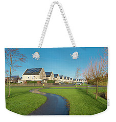 Houses With Solar Panels Weekender Tote Bag