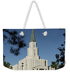 Houston Lds Temple Weekender Tote Bag