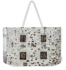 Hovdala Slott Gatehouse In Winter Weekender Tote Bag