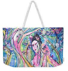 How Are You Petal  Weekender Tote Bag