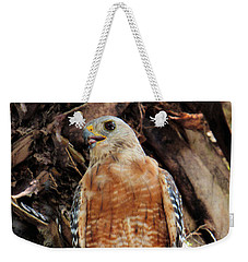 Weekender Tote Bag featuring the photograph How Is This For A Pose by Rosalie Scanlon