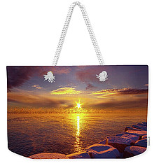 How Loud The Silence Is Weekender Tote Bag by Phil Koch