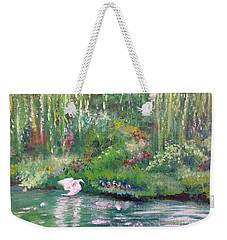 How To Swan Weekender Tote Bag