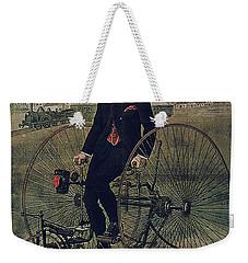 Howe Bicycles Tricycles Vintage Cycle Poster Weekender Tote Bag
