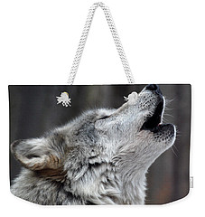 Weekender Tote Bag featuring the photograph Howl by Richard Bryce and Family