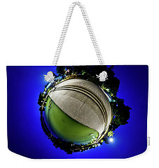 Hoyt Lake At Delaware Park - Tiny Planet Weekender Tote Bag by Chris Bordeleau