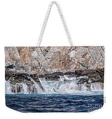 Huatulco Textures Weekender Tote Bag by Ana Mireles