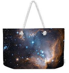 Hubble's View Of N90 Star-forming Region Weekender Tote Bag by Nasa