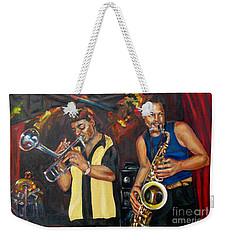 Hud N Lew/ The Daddyo Brothers Weekender Tote Bag
