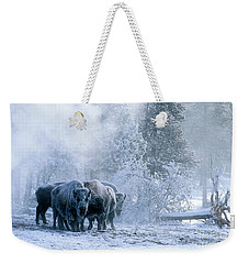 Huddled For Warmth Weekender Tote Bag