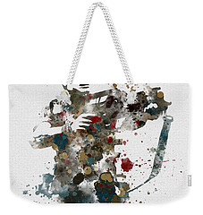 Hudson Weekender Tote Bag by Rebecca Jenkins