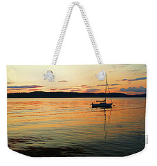 Hudson River From Irvington In Westchester County Weekender Tote Bag