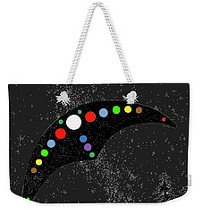 Weekender Tote Bag featuring the painting Hudson Valley Ufo by James Williamson