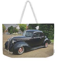 Hudson Vintage Automobile Weekender Tote Bag