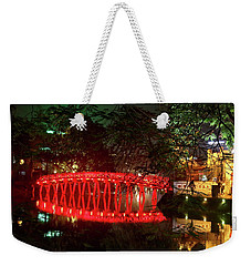Hue Bridge Hanoi  Weekender Tote Bag