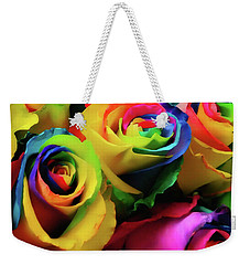 Hue Heaven Weekender Tote Bag by JAMART Photography