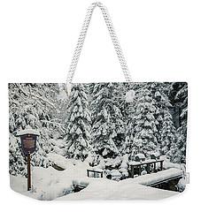 Huehnerbruehe, Harz Weekender Tote Bag by Andreas Levi