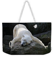 Hug A Rock Weekender Tote Bag by Living Color Photography Lorraine Lynch