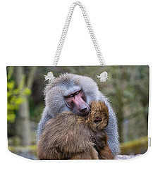 Weekender Tote Bag featuring the photograph Hug Me by Scott Carruthers