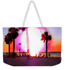 Huge Sun Pine Island Sunset  Weekender Tote Bag