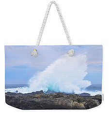Huge Storms River Splash Weekender Tote Bag