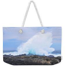 Huge Storms River Splash Weekender Tote Bag by Jeff at JSJ Photography