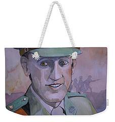Hugo Throssel Vc Weekender Tote Bag by Ray Agius