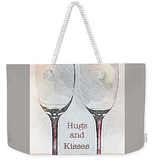 Hugs And Kisses Weekender Tote Bag