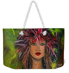 Hula Haku Lei Jenny Lee Discount Weekender Tote Bag