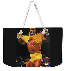 Hulk Hogan Oil On Canvas Weekender Tote Bag
