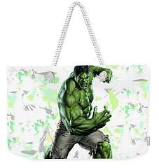 Hulk Splash Super Hero Series Weekender Tote Bag