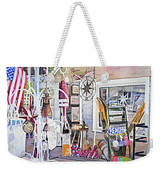 Hull Of A Shoppe Weekender Tote Bag by P Anthony Visco
