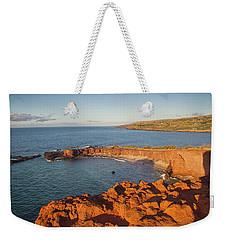 Hulopoe Beach Sunrise Weekender Tote Bag