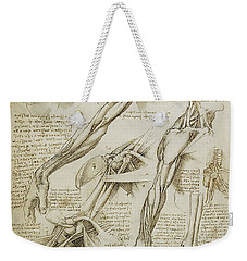 Human Arm Study Weekender Tote Bag by James Christopher Hill