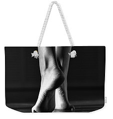 Weekender Tote Bag featuring the photograph Human by Laura Fasulo
