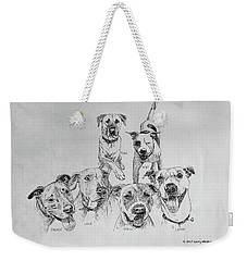 Humane Society Gang Weekender Tote Bag
