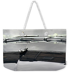 Weekender Tote Bag featuring the photograph Humber Super Snipe by Mary-Lee Sanders
