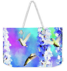 Humming Bird Trio Weekender Tote Bag