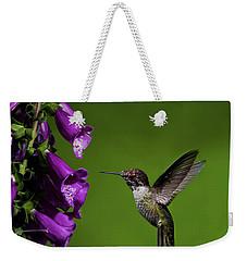 Hummingbird Ballet Weekender Tote Bag