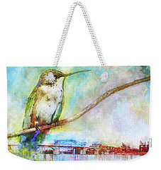 Hummingbird By The Chattanooga Riverfront Weekender Tote Bag by Steven Llorca