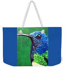 Hummingbird Weekender Tote Bag by Catherine Swerediuk