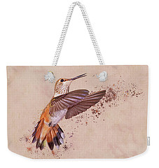 Hummingbird Color Splash I Weekender Tote Bag