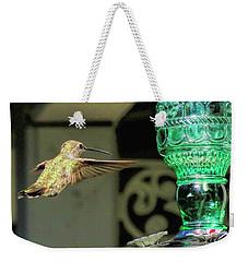 Hummingbird Coming In Weekender Tote Bag