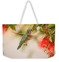 Hummingbird In Paradise Weekender Tote Bag