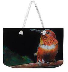 Hummingbird Weekender Tote Bag by Jean Cormier