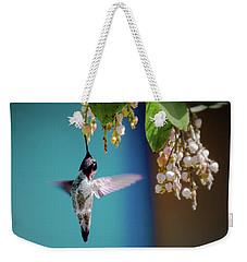 Hummingbird Moment Weekender Tote Bag